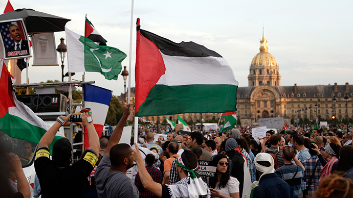Thousands rally against Gaza strikes in London, Paris, Dublin, Tel Aviv
