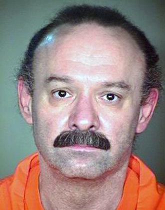 This undated photo provided by the Arizona Department of Corrections shows death-row inmate Joseph Rudolph Wood.
