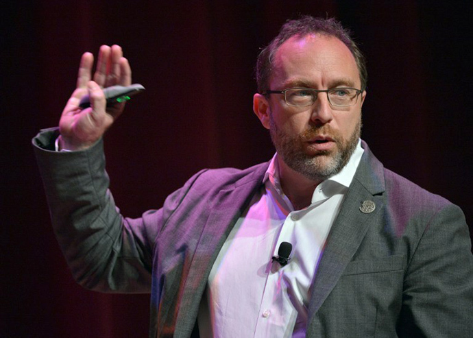 Wikipedia founder Jimmy Wales (AFP Photo / Mandel Ngan)