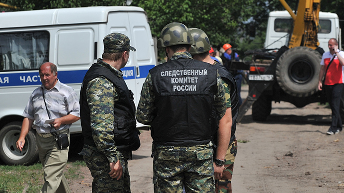 Over 40 mortar shells 'fired to kill' into Russia from Ukraine