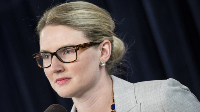 State Department Deputy Spokeswoman Marie Harf (AFP Photo/Brendan Smialowski)