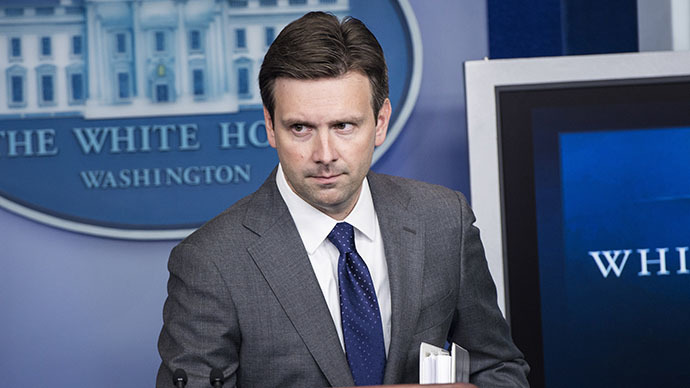 White House Deputy Press Secretary Josh Earnest (AFP Photo / Brendan Smialowski)