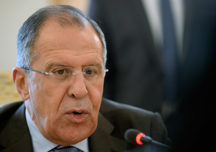 Russia's Foreign Minister Sergei Lavrov.(AFP Photo / Alexander Nemenov)