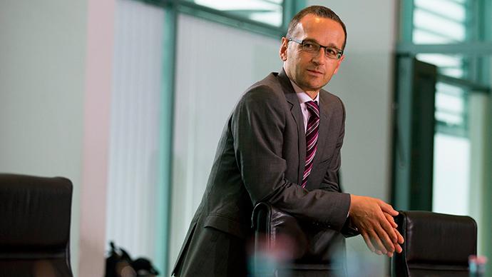 German Justice Minister Heiko Maas (Reuters / Thomas Peter)