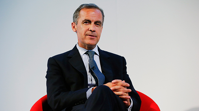 Bank of England Governor Mark Carney (Reuters / Suzanne Plunkett)