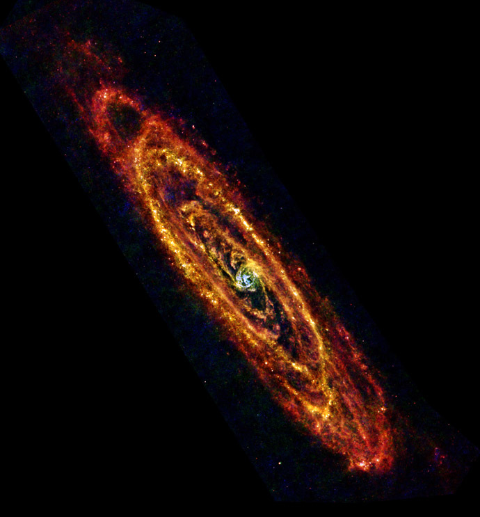The Andromeda galaxy (Reuters/NASA)