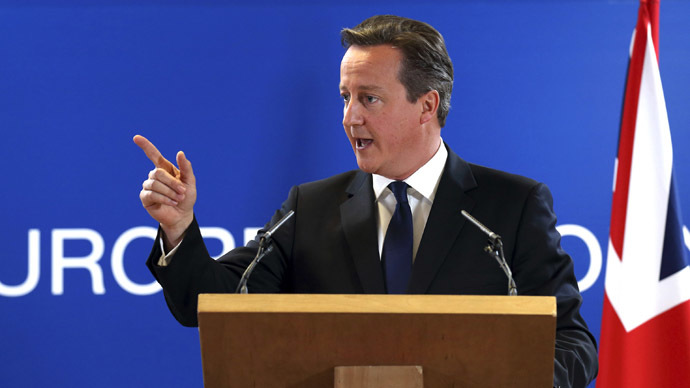 Cameron: We won't start World War Three over Ukraine