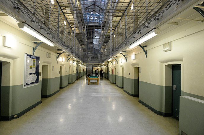 A general view shows C wing at Wormwood Scrubs prison in London (Reuters / Paul Hackett)