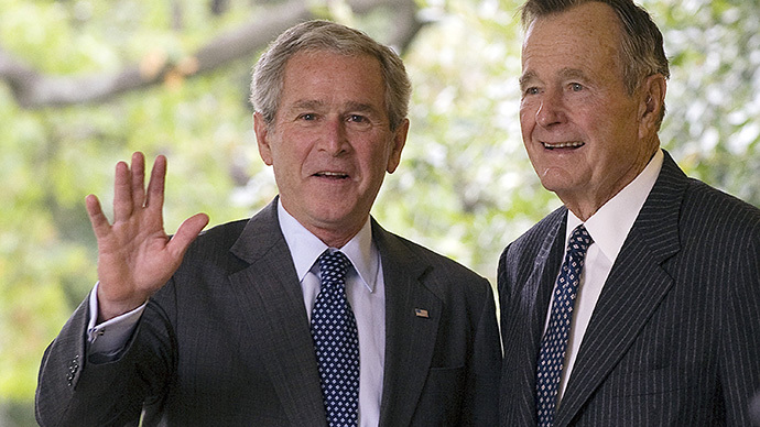 Texas votes for George Bush once again
