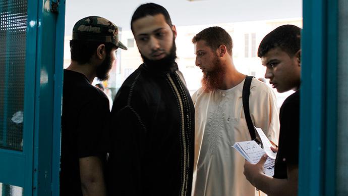 Members of the Libyan Salafi armed group Ansar al-Sharia (Reuters / Asmaa Waguih)