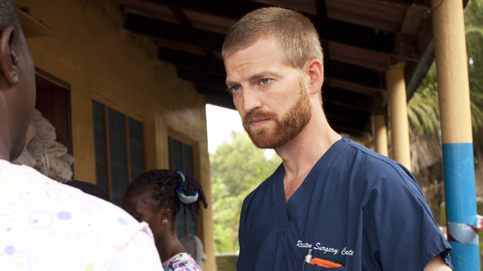 Dr. Kent Brantly (AFP Photo/Samaritan's Purse/Joni Byker)
