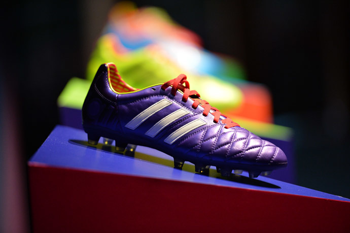 Adidas soccer cleat RIA Novosti/Aleksandr Vilf