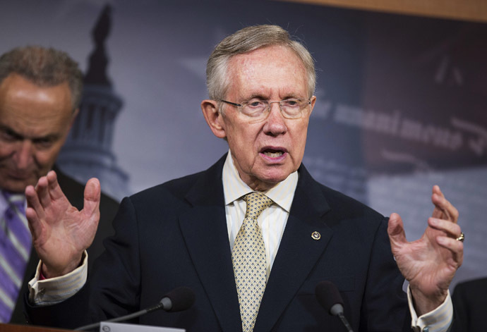Senate Majority Leader Harry Reid (D-NV) (Reuters/Joshua Roberts)