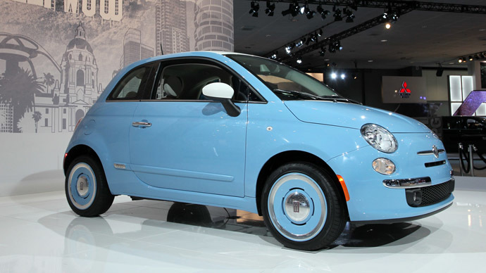 A Fiat 500 1957 Edition (David McNew/Getty Images/AFP)