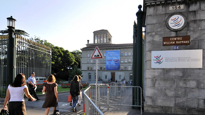 India slams door on $1tn WTO deal over customs rules