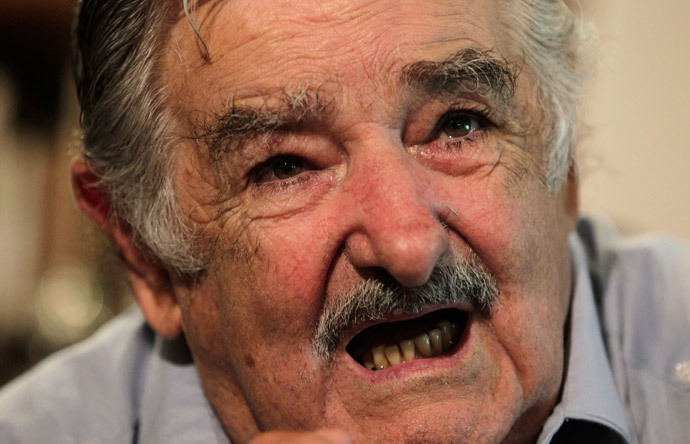 Uruguay's President Jose Mujica.(Reuters / Andres Stapff)