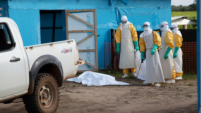 'Moral bankruptcy of capitalism': UK's top public doctor shames western society over Ebola