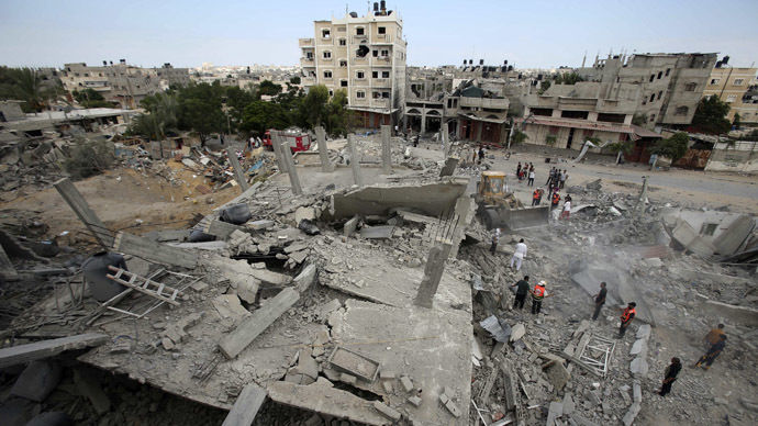 British aid worker killed in Gaza - reports