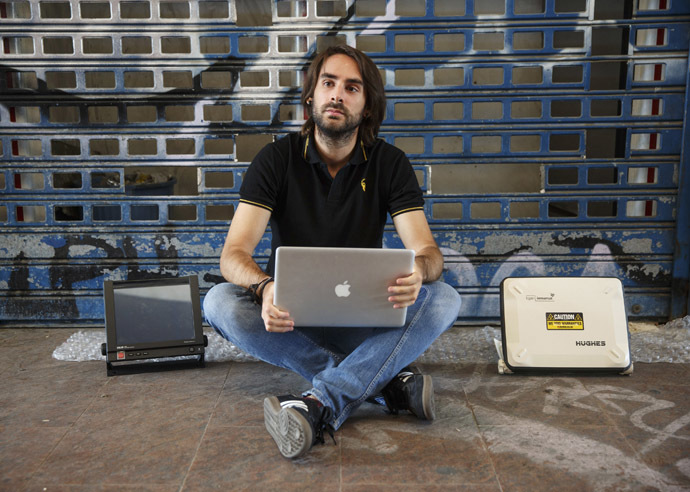 Cybersecurity researcher Ruben Santamarta (Reuters/Andrea Comas)