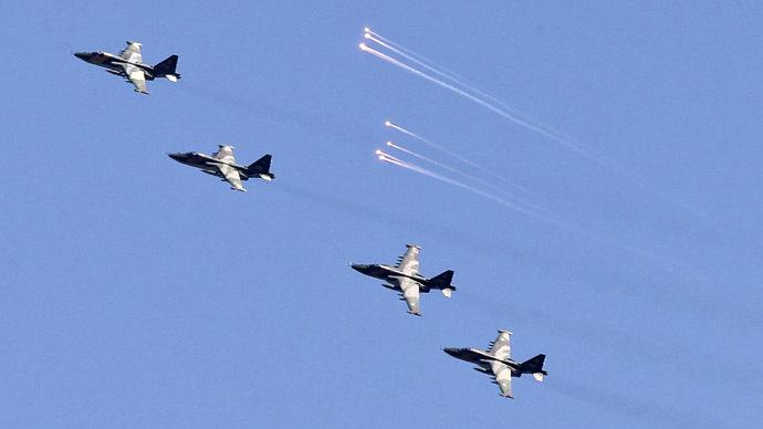 Russian Air Force begins massive scheduled drills