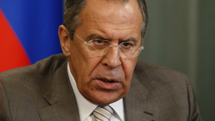 'Ukraine a pretext': Russian FM accuses NATO of using conflict to justify its existence