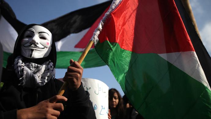 'Israel you're weak': Anonymous hacktivists shut down key Israeli websites