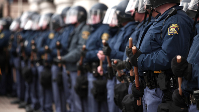 Michigan community rebels against huge expansion, militarization of police
