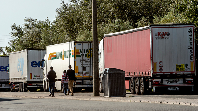 Send them to the UK: French port struggles to tackle immigration crisis