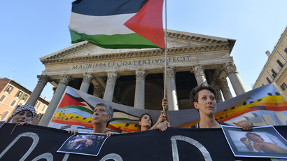 #GazaDayofRage: Tens of thousands take to streets worldwide in support of Palestinians