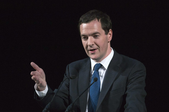 Britain's Chancellor of the Exchequer George Osborne (Reuters/Neil Hall)