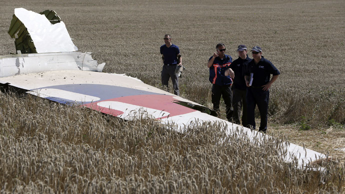 Pentagon sends experts to Kiev as part of MH17 crash investigation