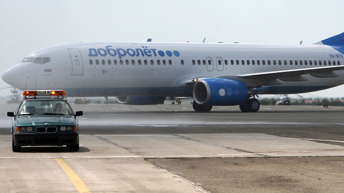 Russia reported extending counter sanctions after Aeroflot's low-cost airline grounded