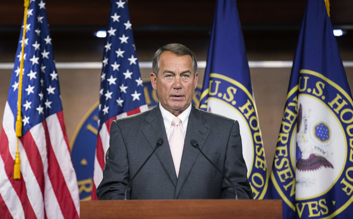 Speaker of the House John Boehner (R-OH) (Reuters)