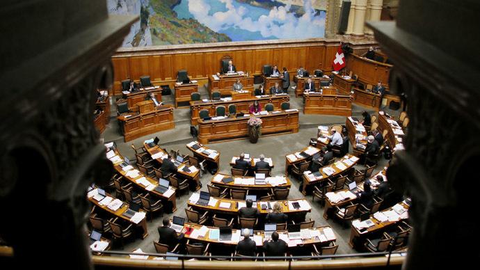 Swiss Miss: Secretary takes nude 'selfies' in parliament building