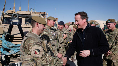 Afghanistan visit: PM says Britain paid 'very high price' for stability