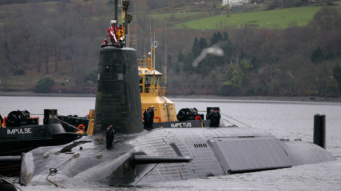 Trident nuclear deterrent would be scrapped by an independent Scotland