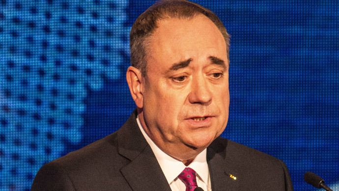 Scotland's First Minister Alex Salmond.(AFP Photo / Peter Devlin)