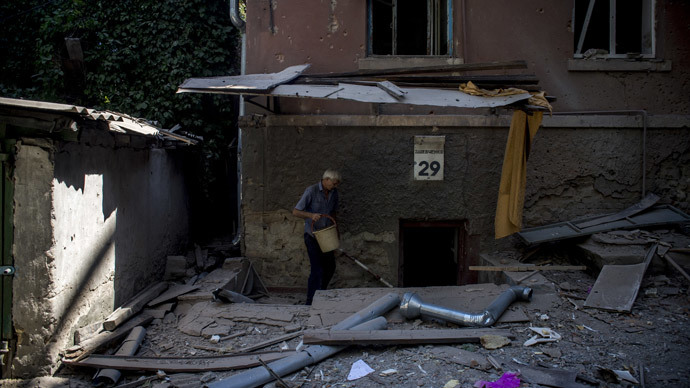 Horror in Lugansk: Family of 5 killed in E.Ukraine after Kiev shells their home
