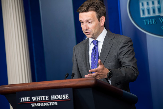 White House Deputy Press Secretary Josh Earnest.(AFP Photo / Brendan Smialowski)