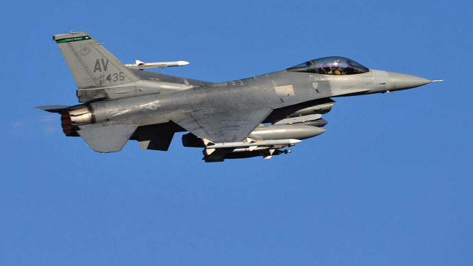 US F16.(AFP Photo / Giuseppe Cacace )
