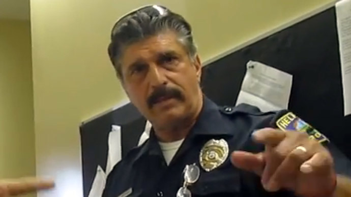 New Jersey cop: 'We don't have to follow' the Constitution that 'Obama decimated' (VIDEO)