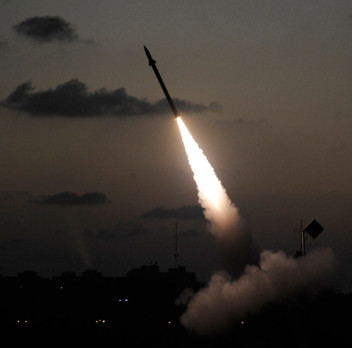 """Iron Dome"".(AFP Photo / David Buimovitch )"