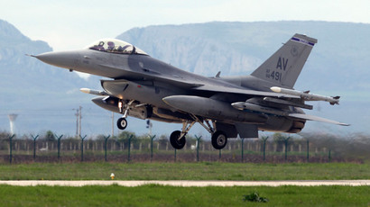 Two US fighter jets strike ISIS artillery in Iraq's Kurdistan