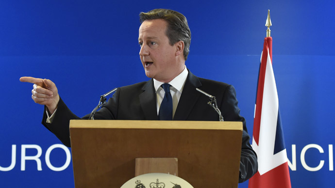 British Prime minister David Cameron (AFP Photo)