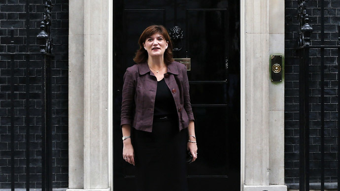 Britain's Secretary of State for Education Nicky Morgan (Reuters/Suzanne Plunkett)