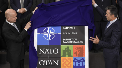 NATO summit: Obama, Cameron urge allies to ramp up military spending