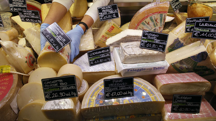 £30,000 cheese order stranded as Russia import ban bites