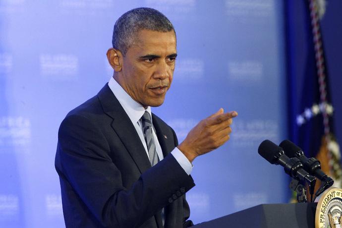 U.S. President Barack Obama (Reuters/Jonathan Ernst)