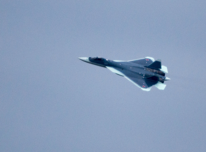 T-50 fifth-generation multirole fighter (RIA Novosti / Alexander Vilf)