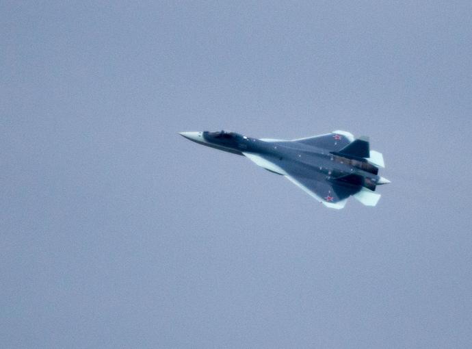 T-50 fifth-generation multirole fighter (RIA Novosti / Alexander Vilf)